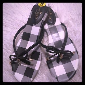 ♠️ KATE SPADE ♠️ New York Buffalo Check Flip Flop